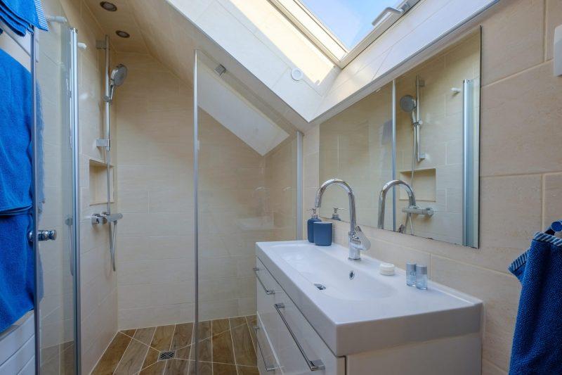 oursonniere de bleau loft salle de bain du haut
